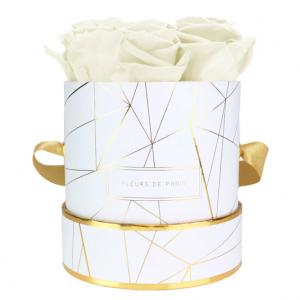 Art Déco Collection Ivory Small wit – rond