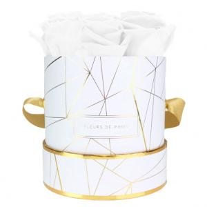 Art Déco Collection Pure White Small wit – rond