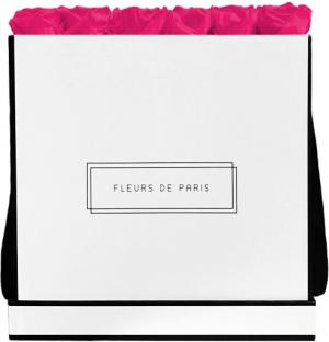 Infinity Collection Hot Pink Luxe wit – vierkant