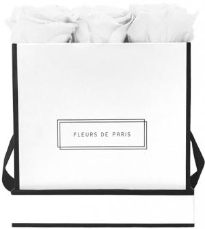 Infinity Collection Pure White Medium wit – vierkant