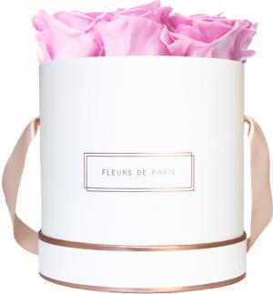 The Rosé Gold Collection Bridal Pink Medium wit – rond