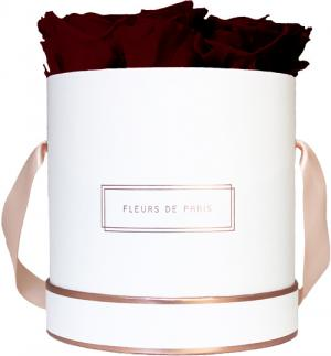 The Rosé Gold Collection Burgundy Medium wit – rond