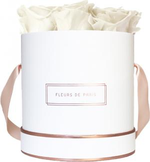 The Rosé Gold Collection Ivory Medium wit – rond