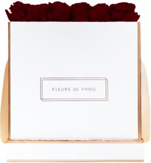 The Rosé Gold Collection Burgundy Petit Luxe wit – vierkant