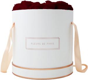 The Rosé Gold Collection Burgundy Petit Luxe wit – rond