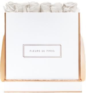The Rosé Gold Collection Ivory Petit Luxe wit – vierkant