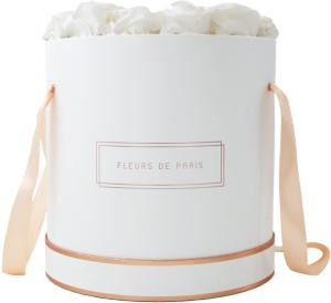 The Rosé Gold Collection Ivory Petit Luxe wit – rond