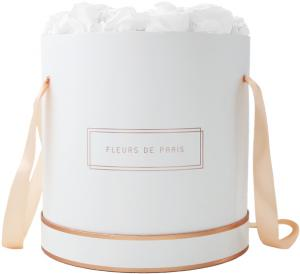 The Rosé Gold Collection Pure White Petit Luxe wit – rond