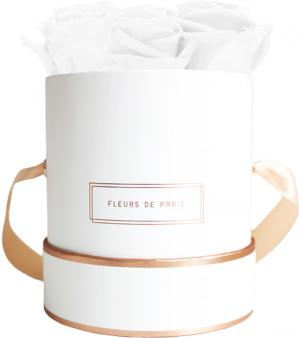 The Rosé Gold Collection Pure White Small wit – rond